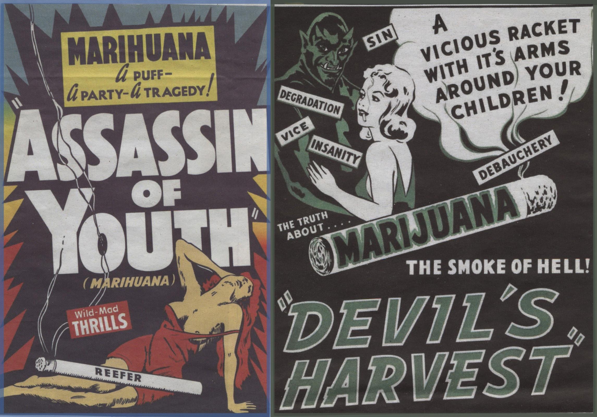 campañas ridículas anti cannabis